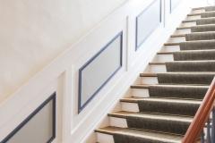 Wunderschöner Treppenaufgang zur ersten Etage